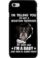 I'm telling you i'm not a boston terrier Phone Case thumbnail