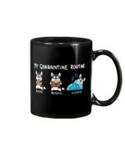 My Quarantine Routine husky Mug thumbnail