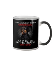 I Don'T Always Get Called A Wiener Dog Dachshund 2 Color Changing Mug thumbnail
