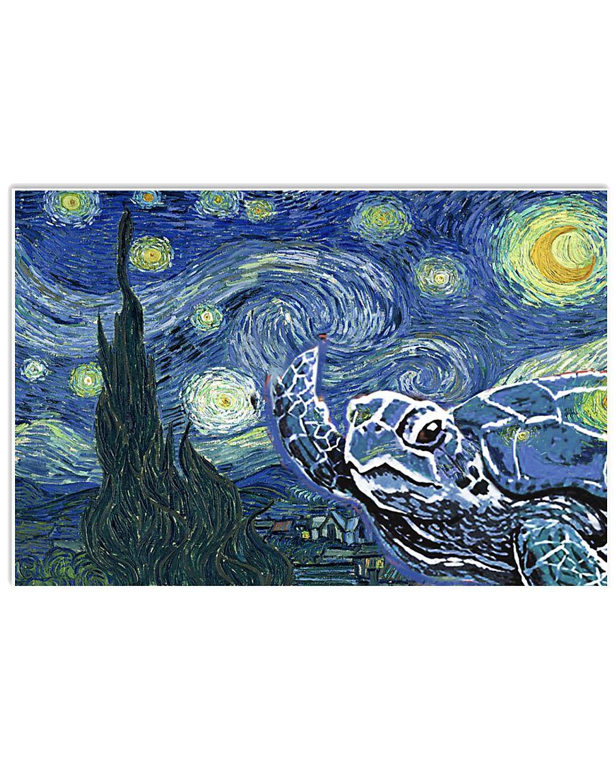 vincent van gogh turtle 17x11 Poster