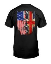 England flag Classic T-Shirt back