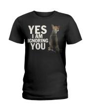 Yes I Am Ignoring You Chihuahua IGNORING 2 Ladies T-Shirt thumbnail