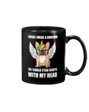 I Wish I Were A Unicorn So I Could Stab Frenchie Mug thumbnail