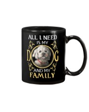 All L Need Is My And My Family poodle Mug thumbnail