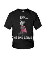 Shh No One Cares Tshirt Youth T-Shirt thumbnail