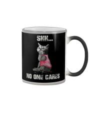 Shh No One Cares Tshirt Color Changing Mug thumbnail
