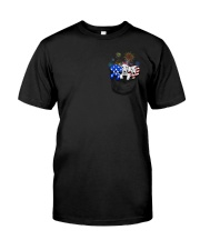 dachshund 2 Classic T-Shirt front