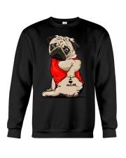 Pug Ilove Mom Crewneck Sweatshirt thumbnail