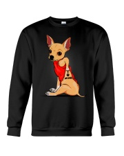 Chihuahua I Love Mom Crewneck Sweatshirt thumbnail
