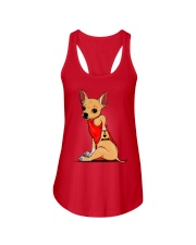 Chihuahua I Love Mom Ladies Flowy Tank thumbnail