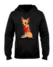 Chihuahua I Love Mom Hooded Sweatshirt thumbnail