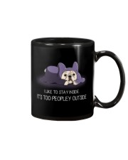 I Like To Stay Insde It'S Too Peopley frenchie 1 Mug thumbnail