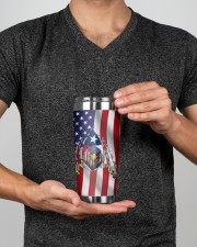 Eagle Texas Inside American Flag 4th Of July Gifts 20oz Tumbler aos-20oz-tumbler-lifestyle-front-14