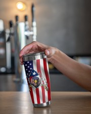 Eagle Texas Inside American Flag 4th Of July Gifts 20oz Tumbler aos-20oz-tumbler-lifestyle-front-20