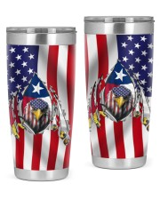 Eagle Texas Inside American Flag 4th Of July Gifts 20oz Tumbler front