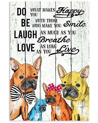 Do Be Laugh Love-french bulldog