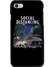 Social Distancing Pitbull Social Distancing Phone Case thumbnail