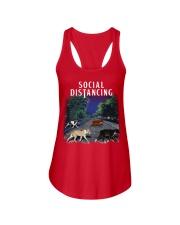 Social Distancing Pitbull Social Distancing Ladies Flowy Tank thumbnail