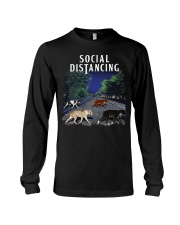 Social Distancing Pitbull Social Distancing Long Sleeve Tee thumbnail