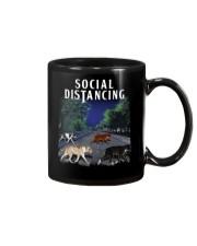 Social Distancing Pitbull Social Distancing Mug thumbnail