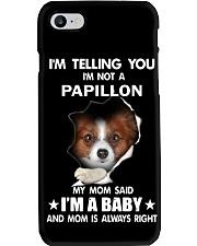 I'm telling you i'm not a Papillon Phone Case thumbnail