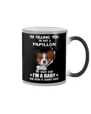 I'm telling you i'm not a Papillon Color Changing Mug thumbnail