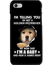 I'm telling you i'm not a golden retriever Phone Case thumbnail