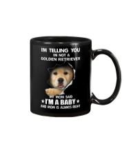 I'm telling you i'm not a golden retriever Mug thumbnail
