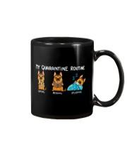 My Quarantine Routine German Shepherd2 Mug thumbnail