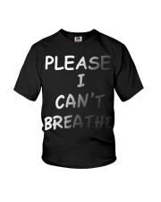Please Can't Breathe Youth T-Shirt thumbnail