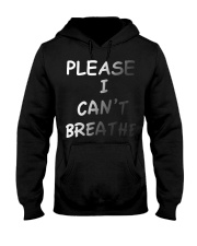 Please Can't Breathe Hooded Sweatshirt thumbnail