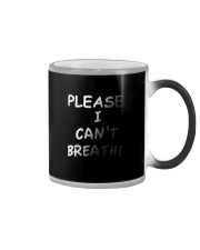 Please Can't Breathe Color Changing Mug thumbnail
