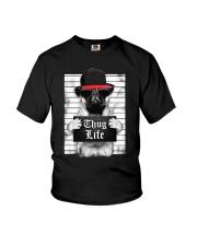 Pug Youth T-Shirt thumbnail