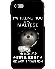 i'm telling you i'm not a maltese Phone Case thumbnail