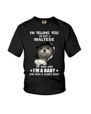i'm telling you i'm not a maltese Youth T-Shirt thumbnail