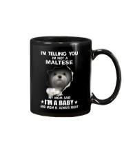 i'm telling you i'm not a maltese Mug thumbnail