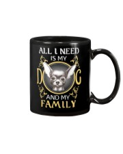 All L Need Is My And My Family frenchie Mug thumbnail