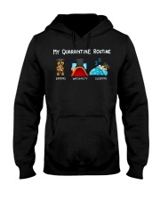 Rottweiler4 Hooded Sweatshirt thumbnail
