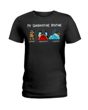 Rottweiler4 Ladies T-Shirt thumbnail
