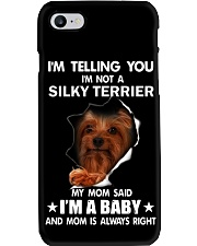 Im telling you im not a silky terrier edition Phone Case thumbnail