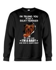 Im telling you im not a silky terrier edition Crewneck Sweatshirt thumbnail