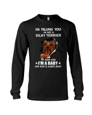 Im telling you im not a silky terrier edition Long Sleeve Tee thumbnail