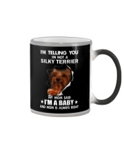 Im telling you im not a silky terrier edition Color Changing Mug thumbnail