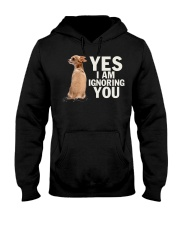 Yes I Am Ignoring You Chihuahua IGNORING Hooded Sweatshirt thumbnail