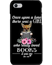 Once wpon a time there was a girl chihuahua Phone Case thumbnail