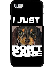 I Just Don'T Care Dachshund Dont Care Phone Case thumbnail
