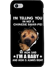 Im telling you im not a chinese shar-pei edition Phone Case thumbnail