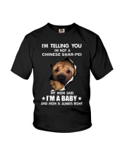 Im telling you im not a chinese shar-pei edition Youth T-Shirt thumbnail