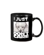 I Just Don'T Care Poodle Mug thumbnail