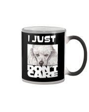 I Just Don'T Care Poodle Color Changing Mug thumbnail